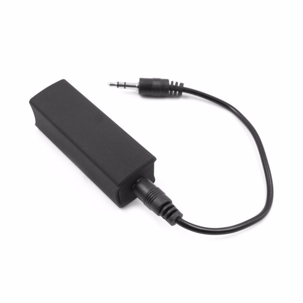 3.5mm Ground Loop Isolator AUX Audio Noise Eliminator Filter Killer Reduce Noise/ Interference For C