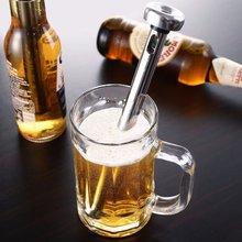 Bâton refroidisseur de boissons en acier 304   Bière, Champagne, Whisky bouteille de refroidissement, tige de refroidissement pour le refroidisseur de vin, refroidissement, refroidissement, refroidissement, carafe de vin