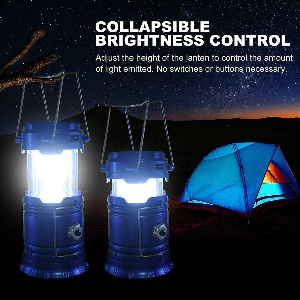 Наружные фонарики Светодиодные 6 светодиодов солнечная энергия Складная