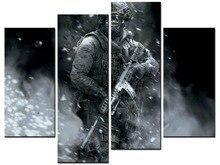 4 stuks/sets van sniper wall art voor de wanddecoratie woondecoratie foto Schilderen in canvas XJDC12-60