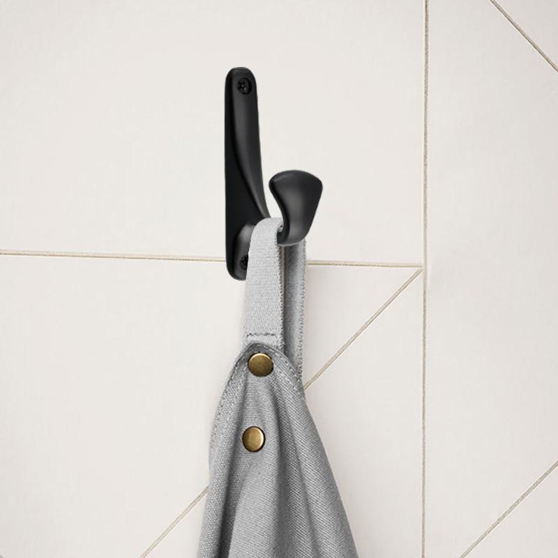 2 шт. пальто металла Крючки стене висит Аксессуары для ванной комнаты Европейский