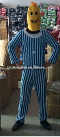 FRETE GRÁTIS Fun Adulto Banana Corpo Terno Traje Unisex Roupa One Size Fits Mais do Vestido Extravagante
