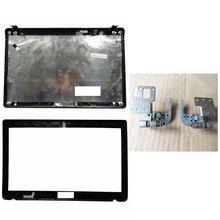 Capa para portátil para asus k52 a52 x52 k52f k52j k52jk a52jr x52jv a52j 13gnxz1am044-1 lcd capa traseira/lcd moldura dianteira/dobradiças