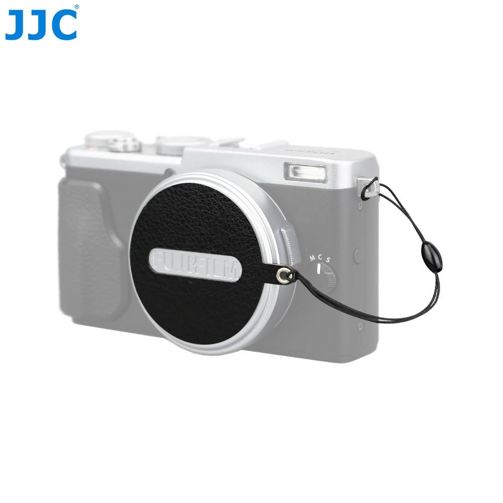 JJC CS-X70 черный объектив Кепки Keepers (наппа) Объектив для камеры Кепки клип для Fujifilm X70 оригинальный объектив Кепки
