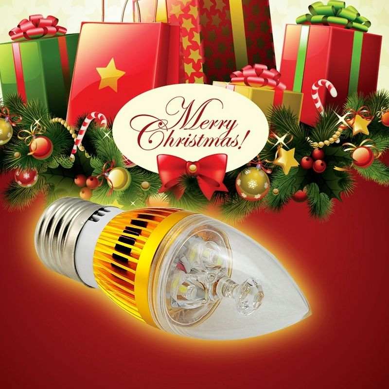 10 PCS E27 LED dimmble Candled Lâmpada 9 w 12 W LED Vela Bulbo Da Lâmpada Quente Branco/Branco de Alta Lumens