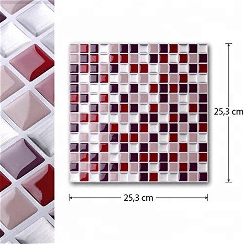 Vividtiles самоклеющаяся мозаичная плитка наклейка на стену Наклейка DIY Кухня Ванная комната Домашний Декор винил