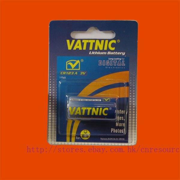 1 x CR123A CR17335 3V Lithium Batteries