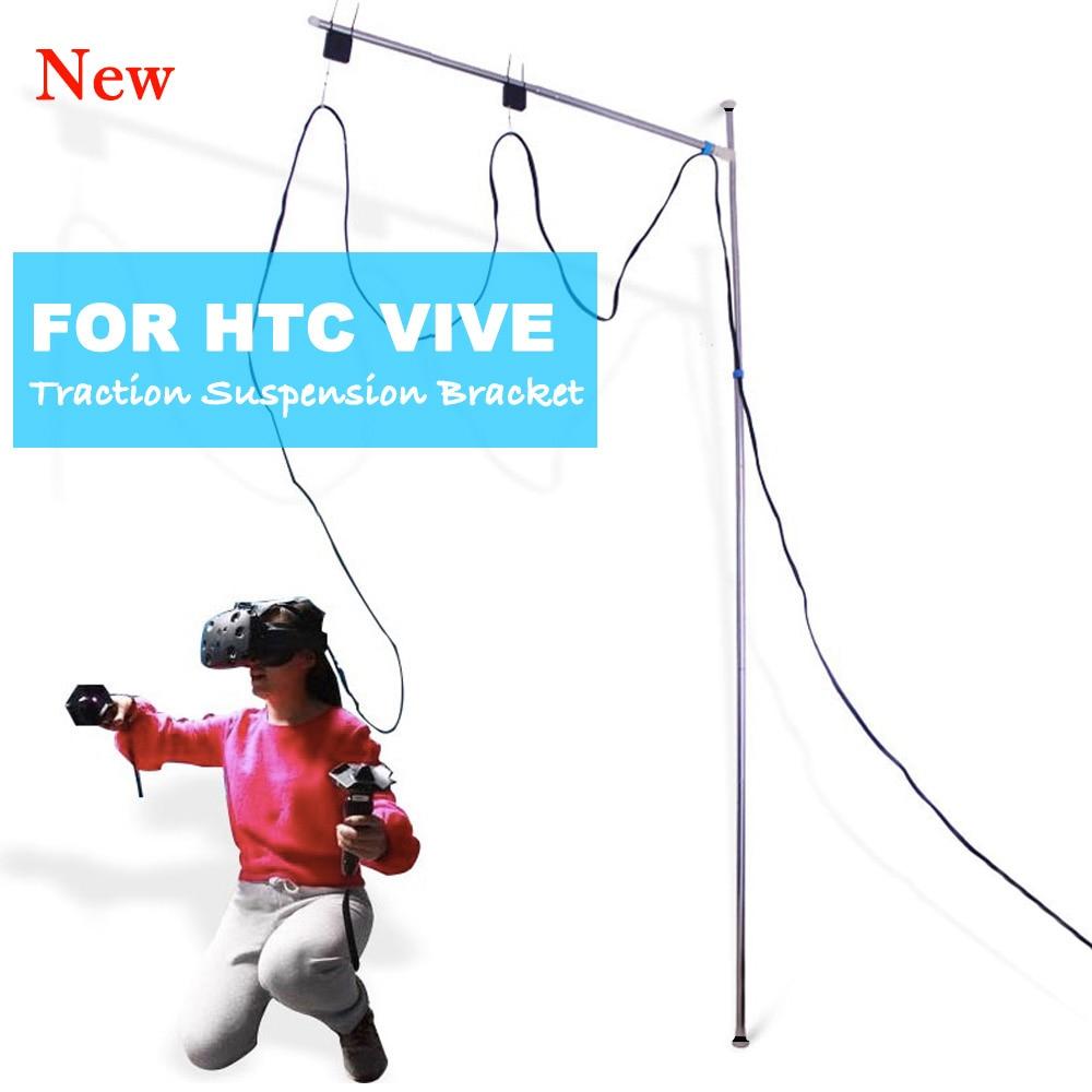 ل VIVE HTC VR الجر تعليق قوس ل HTC فيف الواقع الافتراضي سقف تعليق كابل النظام إدارة الملحقات