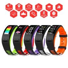 Color Sport Smart Watch GPS Run/Cycle Men/Women Real Time Speed Smartwatch For Apple/Xiaomi/Huawei PK Fit bit 5/Mi Band 4 Not