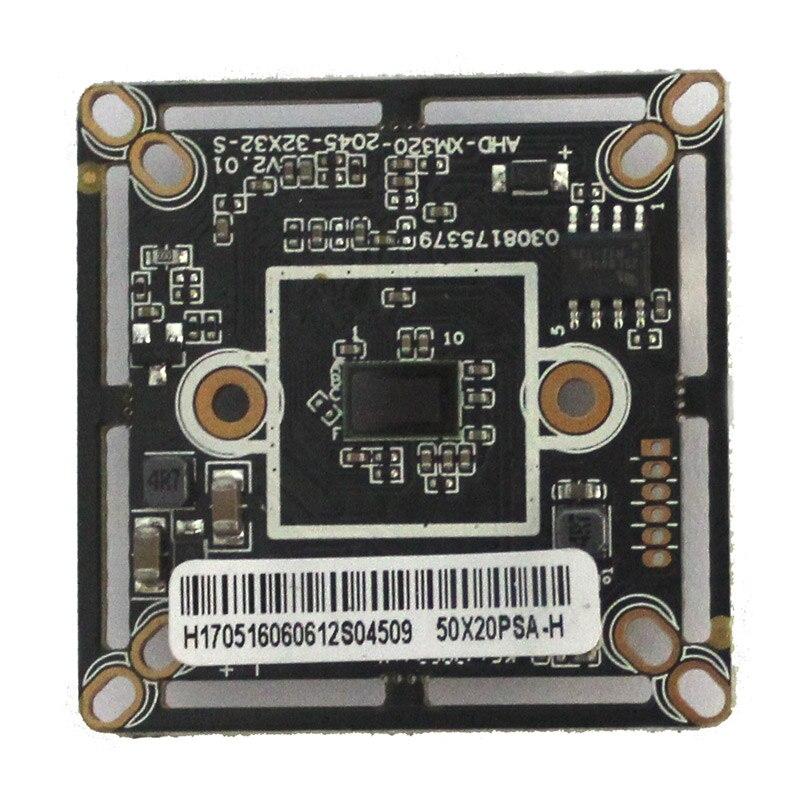 Hd 1080 p ahd cctv módulo de câmera 2mp 1920*1080 2.0mp cmos segurança pcb placa mainboard