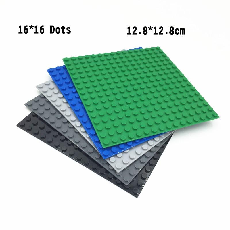 ESTELLE 5 шт. 16*16 точек опорная пластина для маленьких кирпичей опорная плита доска DIY строительные блоки игрушки для детей Подарки
