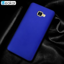 Coque en plastique mat 5.7For Samsung Galaxy C7 étui pour Samsung Galaxy C7 C7000 Coque arrière pour téléphone