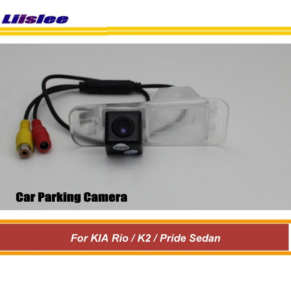 Car Rear Parking Camera For KIA Rio/K2/Pride Sedan 2011 2012 2013 2014 2015 Auto Reverse View Back Up CAM