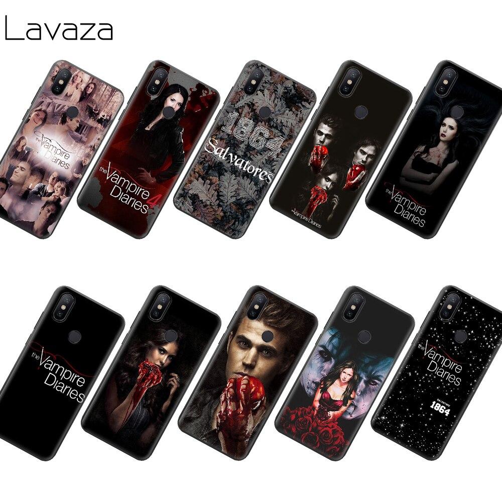 Lavaza el vampiro diarios TPU caso para Xiaomi Redmi Note 4 4X 4A 5 5A 6 6a 7 8 Pro A Primer Plus
