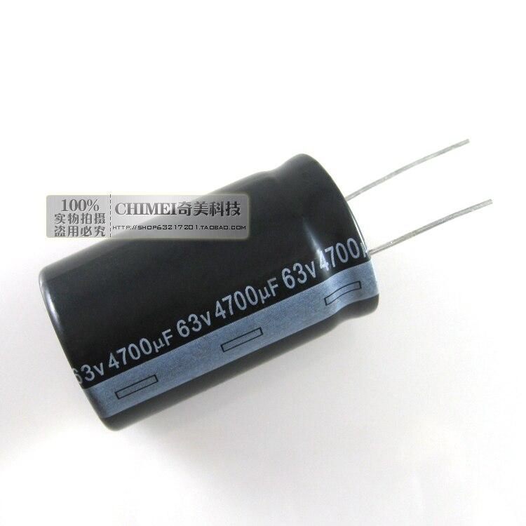 Elektrolitik kondansatör 63 V 4700 UF kondansatör