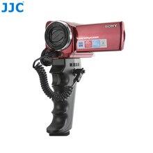 JJC caméra DV poignée pistolet poignée déclencheur support pour caméscope SONY avec port A/V R ou LANC et BMPCC HDR-CX190/HDR-CX200