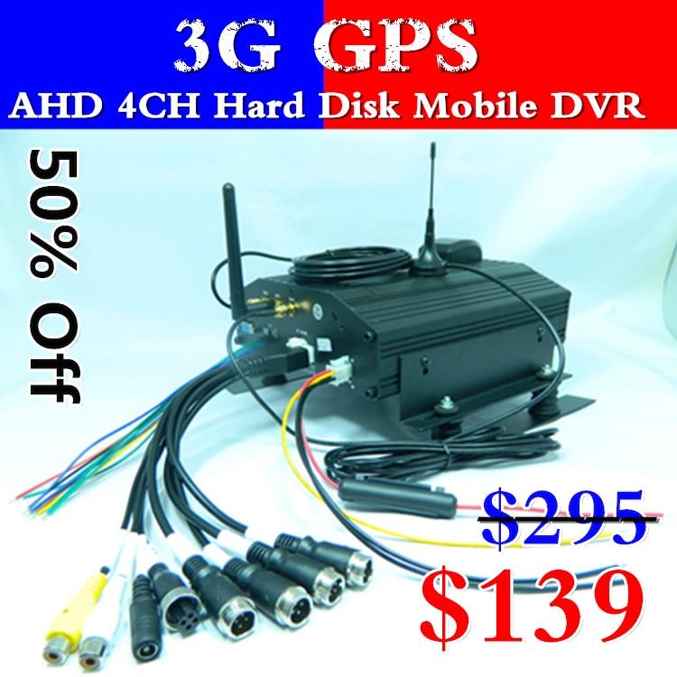 Мобильный DVR японский/Корейский операционный интерфейс 4 полосный AHD