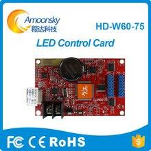 Original usine nouveau produit HD-W60-75 couleur wifi LED carte de contrôle 640*64 2 * HUB75B RGB couleur asynchrone LED carte de contrôle