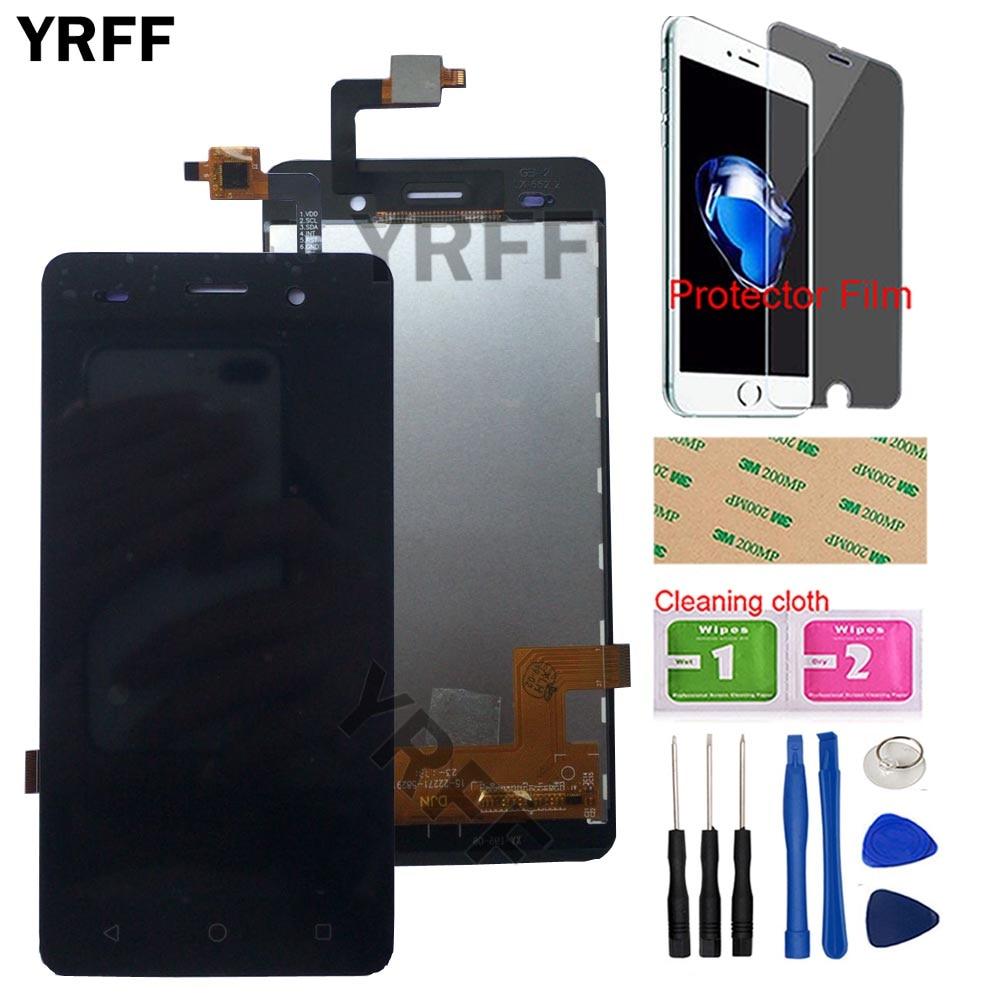 """5 """"휴대 전화 lcd 디스플레이 bq BQS-5020 bqs 5020 스트라이크 lcd 디스플레이 터치 스크린 완료 어셈블리 도구 보호 필름"""