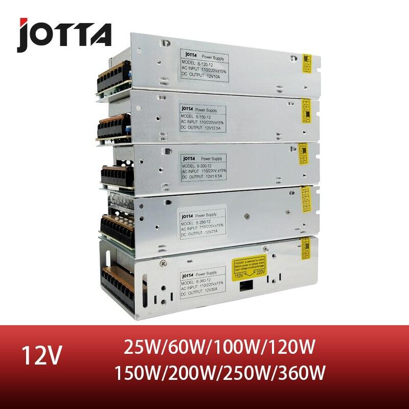 משלוח חינם 12V 180W ~ 200W ~ 250W ~ 350W ~ 360W LED מיתוג אספקת חשמל 12v אספקת חשמל 12v אספקת חשמל led