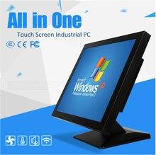 Tablette pc sans ventilateur 10.4 pouces/panneau industriel pc/tout en un pc avec écran tactile, processeur intel atom, Win NT, UNIX,