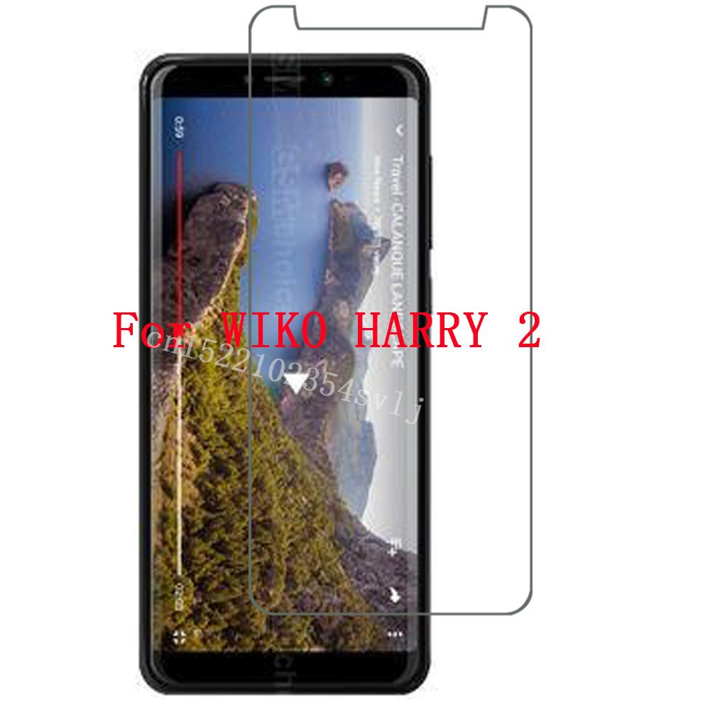 HD 9H Film Ultrathin Tempered Glass For WIKO HARRY 2 Screen Protector Phone Cover Q