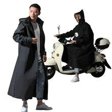 Chubasquero EVA con cremallera para hombre y mujer, Poncho de estilo largo para motocicleta, chaqueta de lluvia ambiental para senderismo, gran oferta, 2021