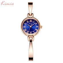 Montres femmes KIMIO marque robe quartz montre mode bracelet montres pour femmes chaud fille cadeau horloge or charmante chaîne