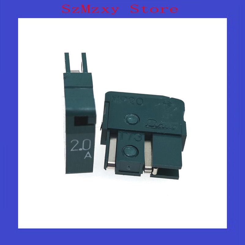 5 unids/lote fusible MP20 2.0A