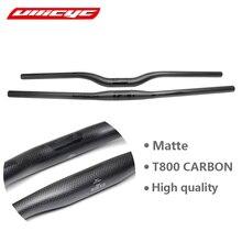 Vélo de montagne ULLICYC 3K en fiber de carbone plat/élévation guidon de vélo pièces de vélo vtt 31.8*580-720mm CB440