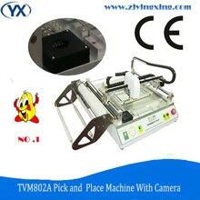 Pcb İmalat ve Montaj Makineleri Otomatik Smd Mounter Led Ampul Üretim Makinesi TVM802A