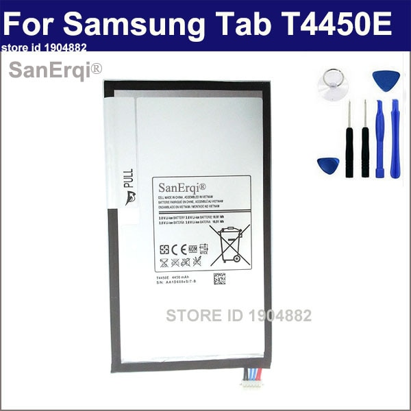 SanErqi Pour Samsung galaxy Tab Tablet 3 8