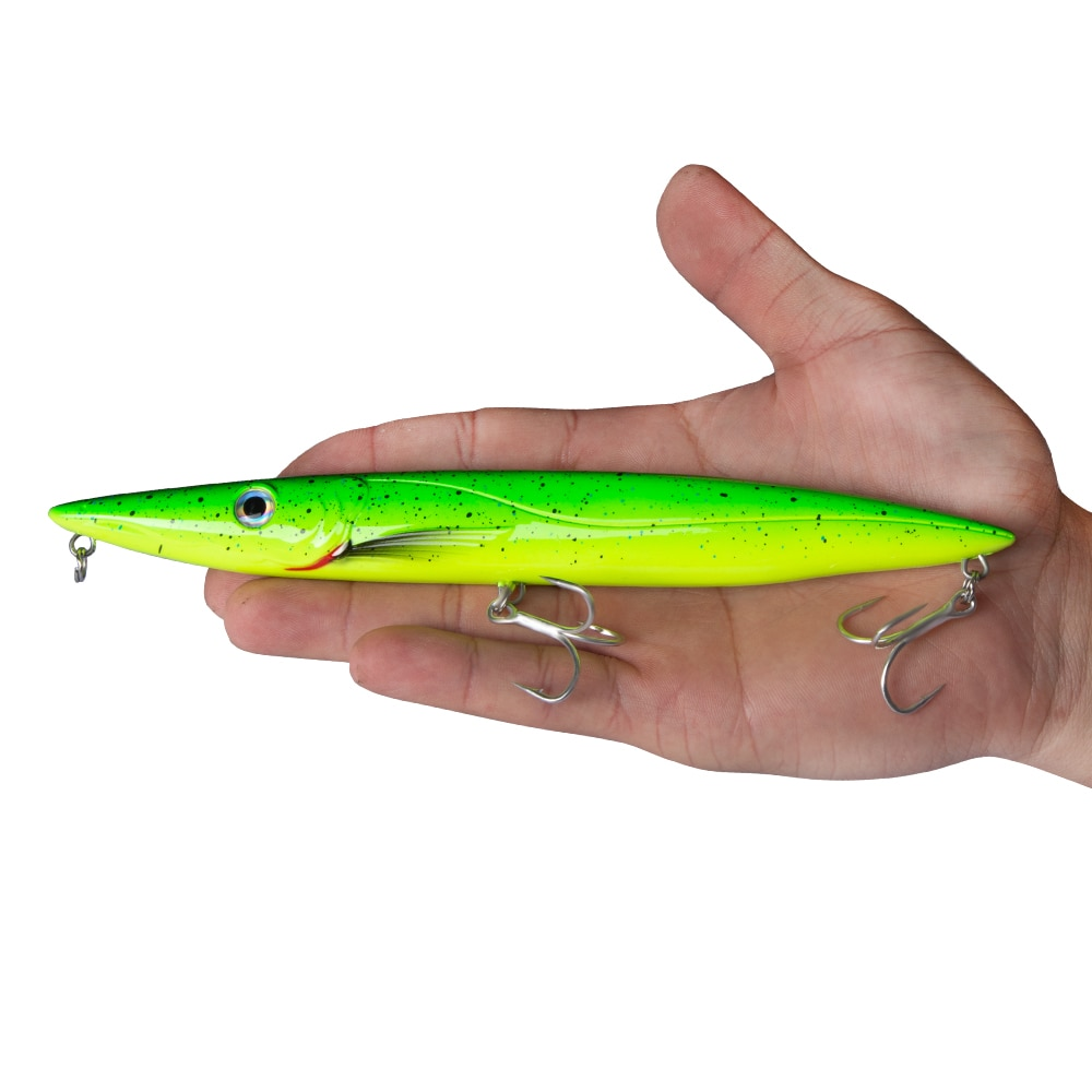 Hunthouse Espetron leurre walk dog pencil lure 195mm 44g long cast pencil stickbait fishing leerfish and bluefish topwater lures enlarge