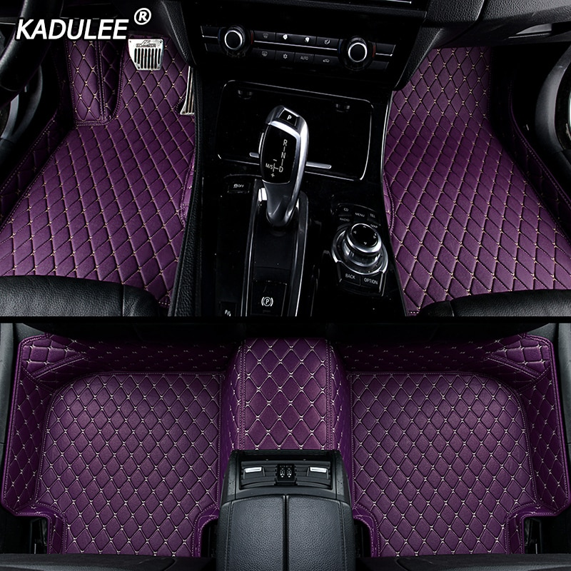 KADULEE Custom car floor Foot mat For audi a3 sportback audi a5 sportback a4 b8 avant tt a1 a7 q3 q5 q7 s8 s7 s4 car accessories