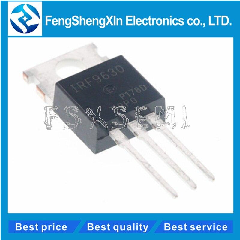 10 pcs/lot nouveau IRF9630PBF IRF9630 IRF9630N tube à effet de champ MOSFET P 200 V/6.5A TO-220