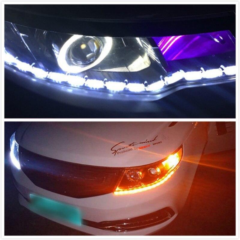 2x DRL Светодиодный дневной ходовой светильник для Lada Niva Kalina Priora Granta Largus ВАЗ Samara Sedan Sport Vesta X-Ray 2106 2108 210