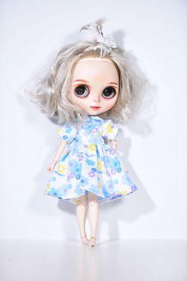 Nuevo 1/6 altura 26-28cm BJD YOSD Blythe muñeca ropa encantador vestido