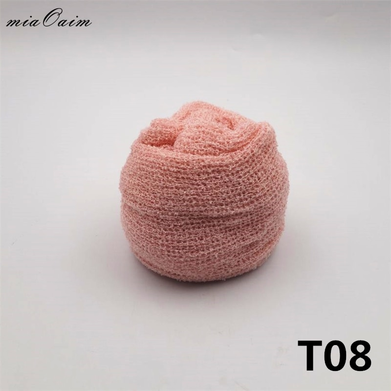 30pcs/lot 150*30cm Stretch Knit Wrap Newborn Baby Photography Studio Props Boutique Soft Stretch Wrap Baby Blanket Swaddle Wraps