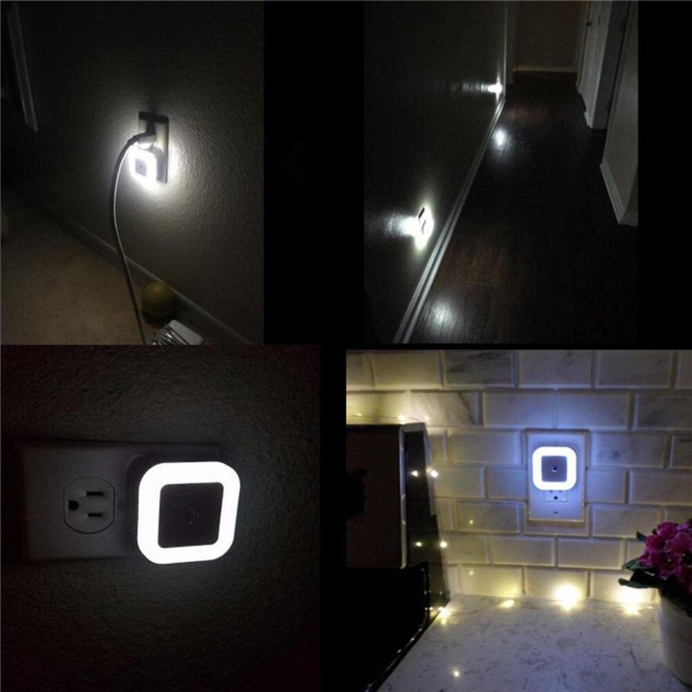 Lámpara LED de noche para pared, lámpara con Sensor de luz nocturna, luz automática para mesa, Sensor de 0,5 W para salón, dormitorio para bebé, regalo de luz infantil