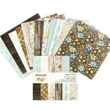 Papier à motifs pour Scrapbooking 6 pouces   Papier de fond artistique, décoration de maison, carte de bricolage, fabrication de papier artisanal
