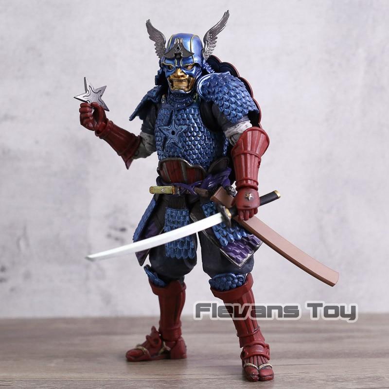 Manga  Series Samurai Captain America PVC Action Figure Toy Collectible Model Christmas Gift
