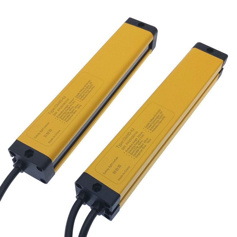 Licht vorhang sicherheit gitter 4 punkte 40mm transistor PNP normal geschlossen sensor schalter photoelektrischen schutz gerät