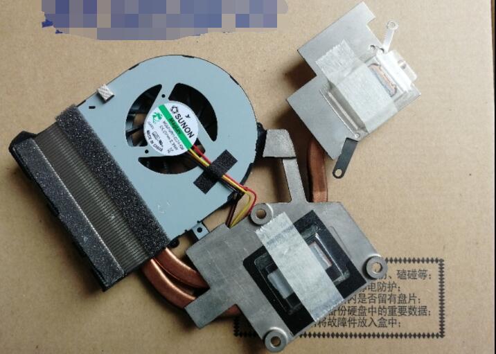 Ventilador de refrigeração da cpu com dissipador de calor, para lenovo g500 g510 g505 g400 g405 g490 g400sa g410 gráficos discretos