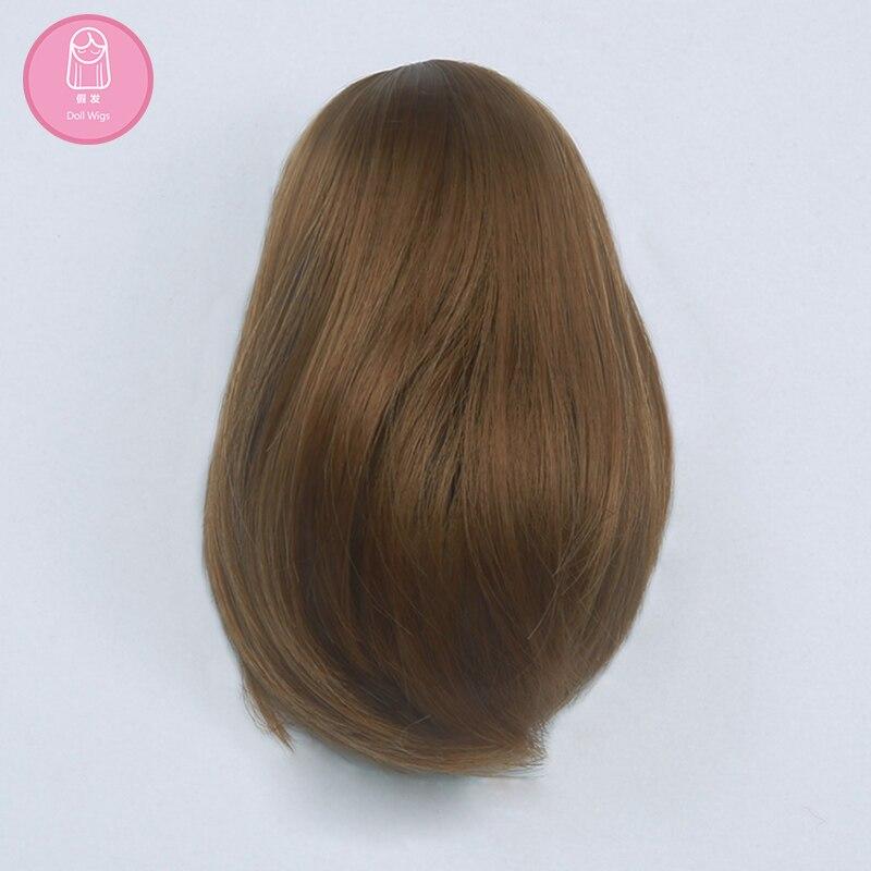 Peruca para boneca bjd dollshe artesanato ds shinee david kuncci cabelo longo tamanho 4.5-6 polegada peruca de alta temperatura estilo moda bonito l04c