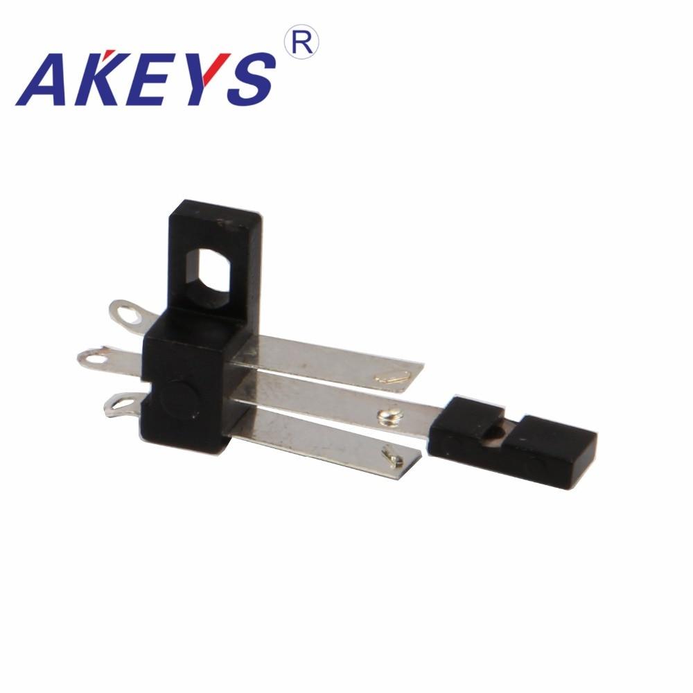 20 piezas LSA-02-7B 3 pines de aparatos mini interruptor tipo hoja