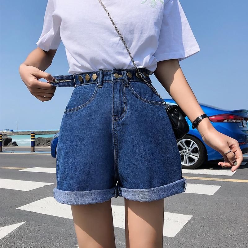 AliExpress - GUUZYUVIZ Casual 5XL Plus Size Denim Shorts Jeans Woman Jean Shorts Women Summer High Waist Short Feminino Spodenki Damskie
