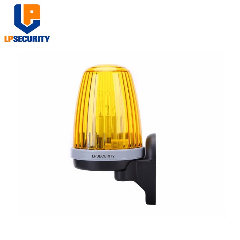 LPSECURITY Signal Alarm Light Strobe Flashing Emergency Warning Lamp wall mount for Automatic Gate O