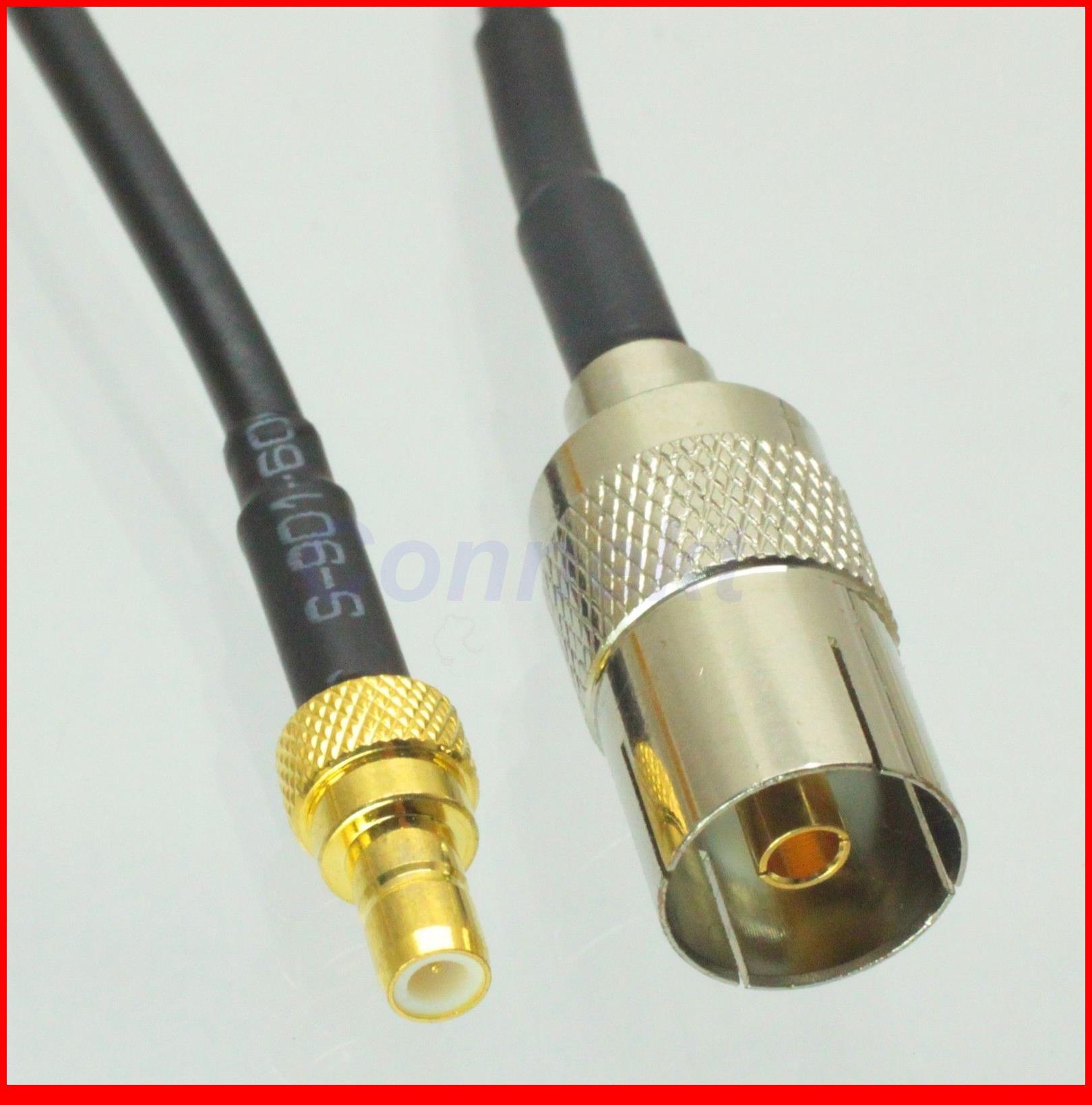 5 قطعة/الوحدة iec dvb-t tv pal أنثى إلى ذكر rg174 كابل البلوز جديلة 15 سنتيمتر