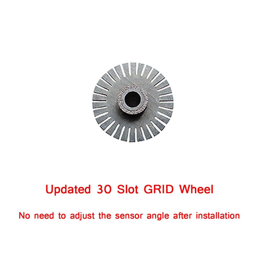 Codificador óptico de volante con 30 ranuras para Logitech G27/Sistema de volante Driving Force GT Material de acero inoxidable 304