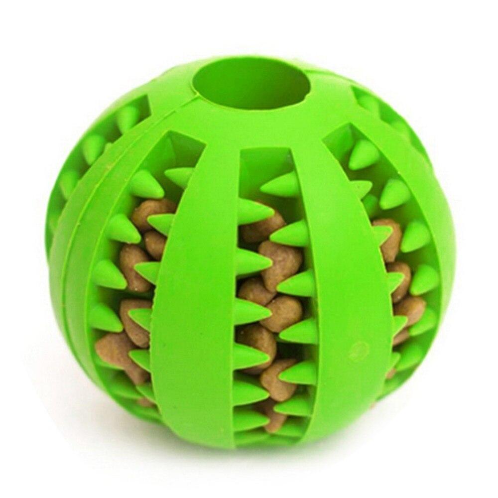 Divertido juguete mordedor resistente no tóxico de Juguetes para perros de compañía, alimentador de comida para perros, Bola de Limpieza de dientes Chihuahua 30 S1